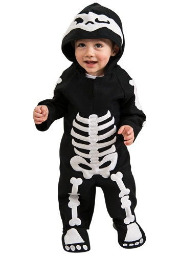 Infant Or Toddler Skeleton Costume
