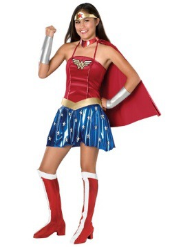 Wonder Woman Teenage Costume