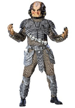 Scary Deluxe Predator Costume for Adults