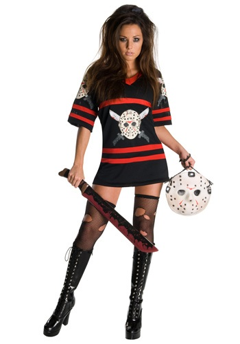 Women's Sexy Jason Voorhees Costume